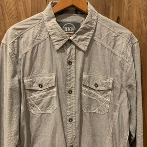 Men's button down long sleeve from the Buckle